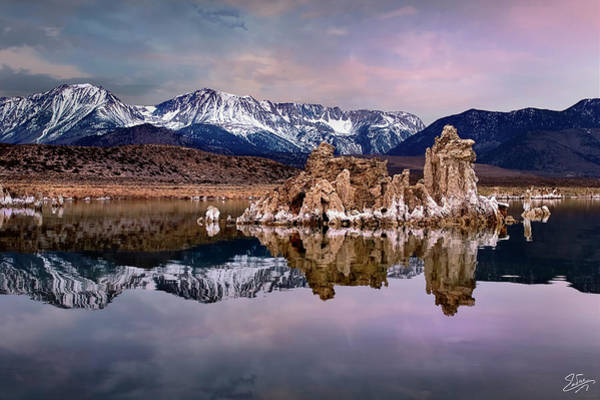 Photograph - Early Morning Tufa 3 by Endre Balogh