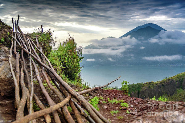 Photograph - Early Morning View Over Lake Batur - Danau Batur - From Mount Batur by Global Light Photography - Nicole Leffer