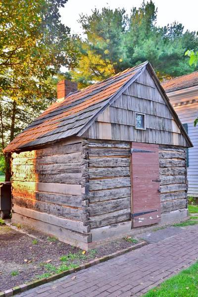 Photograph - Early Plank House From 1690 - Lewes Delaware by Kim Bemis