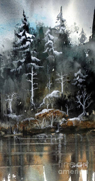 Painting - Early Snow by Douglas Teller