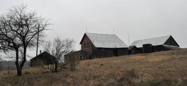Photograph - Early Spring Farm by Tim Nyberg