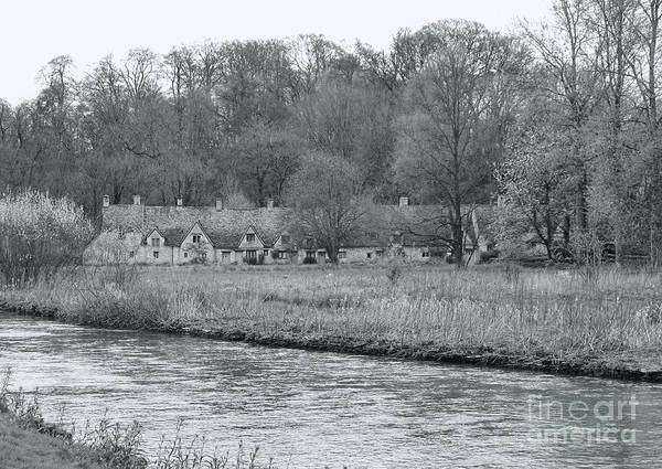 English Countryside Photograph - Early Spring In England Black And White by Jasna Buncic