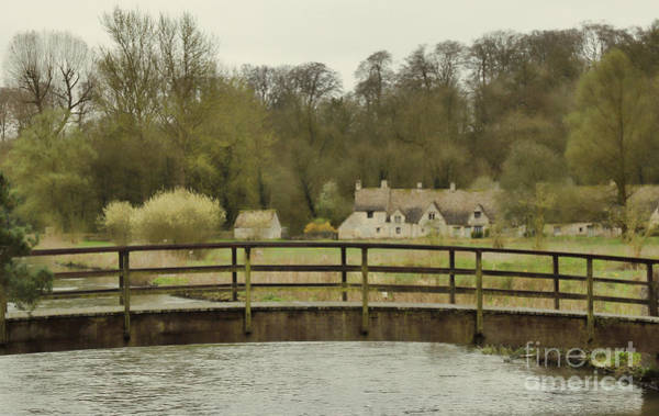 English Cottage Photograph - Early Spring In The Counties by Jasna Buncic