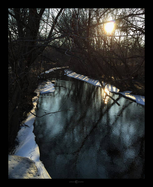 Photograph - Early Spring Minnehaha Creek by Tim Nyberg