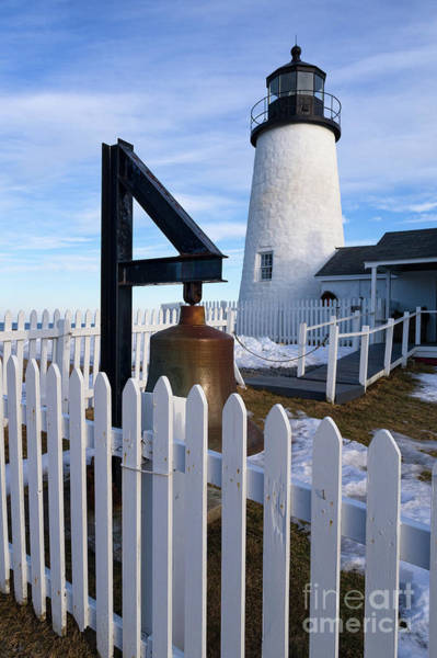 Photograph - Early Spring, Pemaquid Lighthouse, Maine  -71290 by John Bald