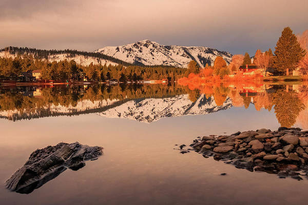 Wall Art - Photograph - Early Spring Tallac Reflections by Mike Herron