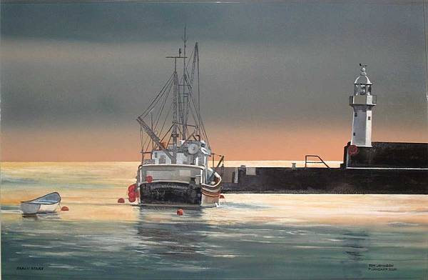 Painting - Early Start by Tim Johnson