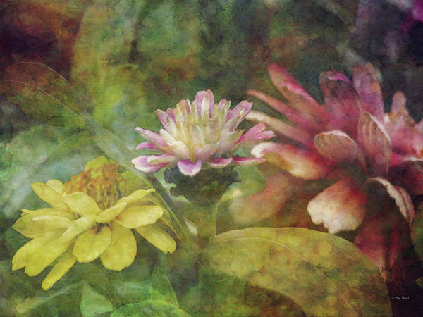 Early Summer Flowers 1304 Idp_2 Art Print