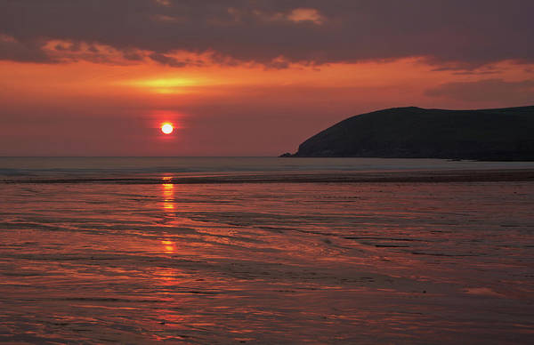 Photograph - Early Summer On Croyde Beach In N Devon by Pete Hemington
