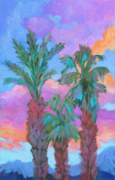 Wall Art - Painting - Early Sunrise by Diane McClary