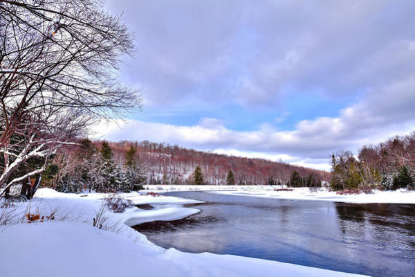 Photograph - Early Winter On The Moose River by David Patterson