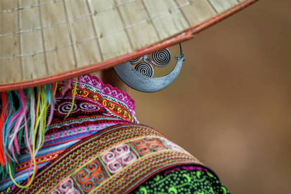 Photograph - Earring by Hitendra SINKAR
