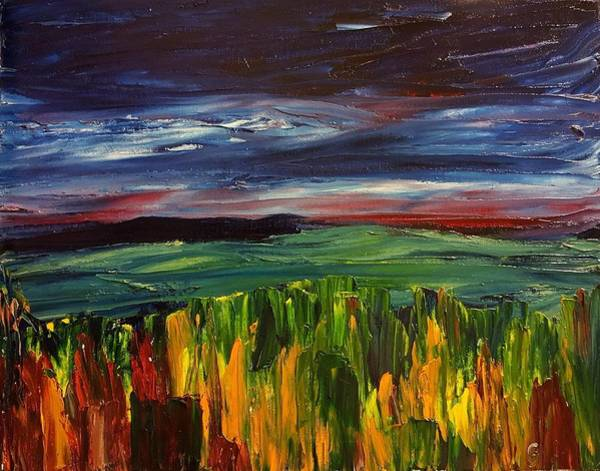 Painting - Earth Abstraction     92 by Cheryl Nancy Ann Gordon