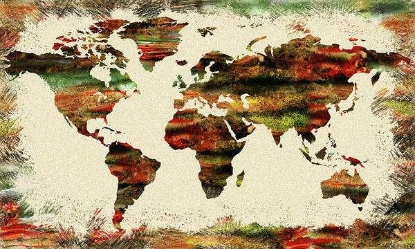 Painting - Earth And Color by Irina Sztukowski