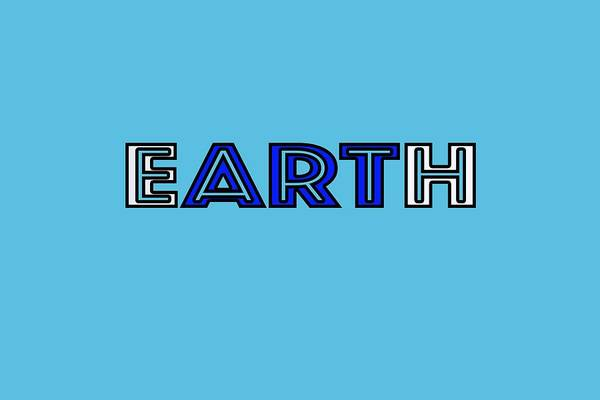 Digital Art - Earth Art by Bill Posner