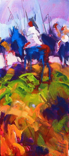 Painting - Earth People by Les Leffingwell