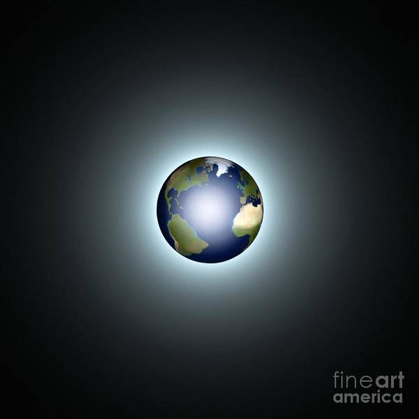 Painting - Earth by Pet Serrano