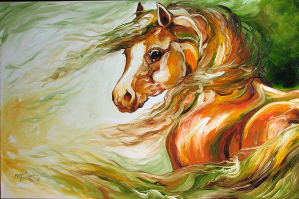Painting - Earth Wind And Fire 2   Sold by Marcia Baldwin