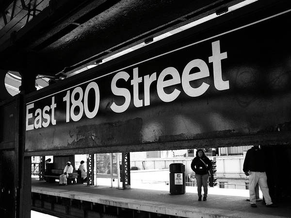 Photograph - East 180 Street by Mary Capriole