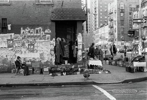 Photograph - East 7th Street 1979 by Dave Beckerman