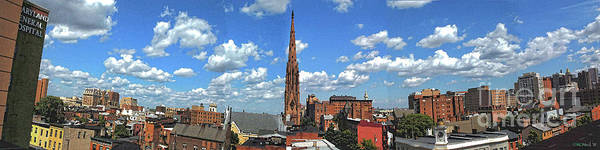 Photograph - East Baltimore Panorama by Walter Neal
