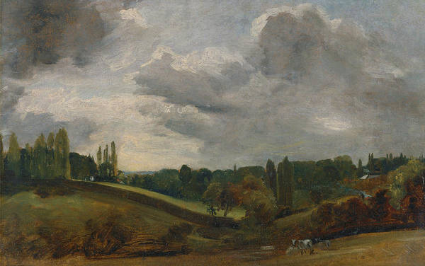 Painting - East Bergholt by John Constable