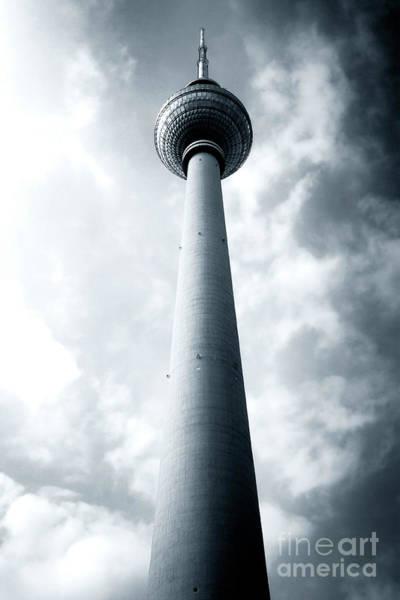 East Berlin Tv Antenna Art Print