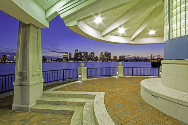 Wall Art - Photograph - East Boston Piers Park View Of Boston by Juergen Roth