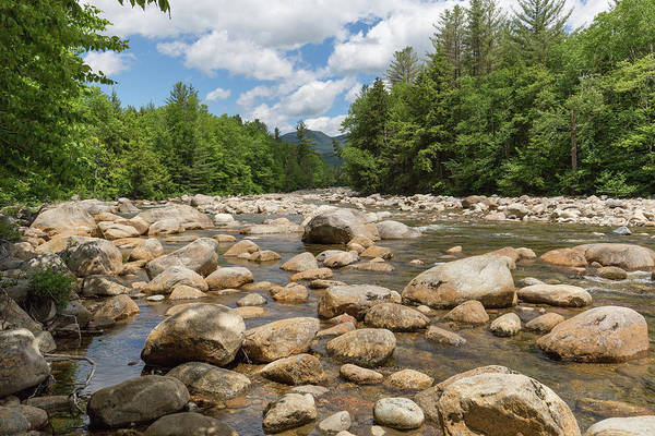 Photograph - East Branch Pemigewasset River by Brian MacLean