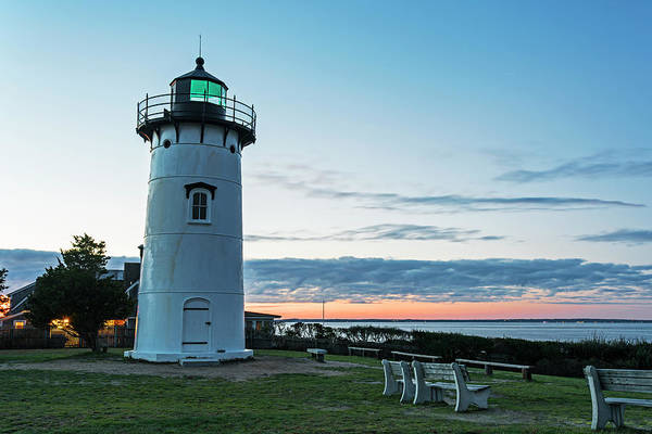 Photograph - East Chop Lighthouse Vineyard Haven Ma Caorcof by Toby McGuire
