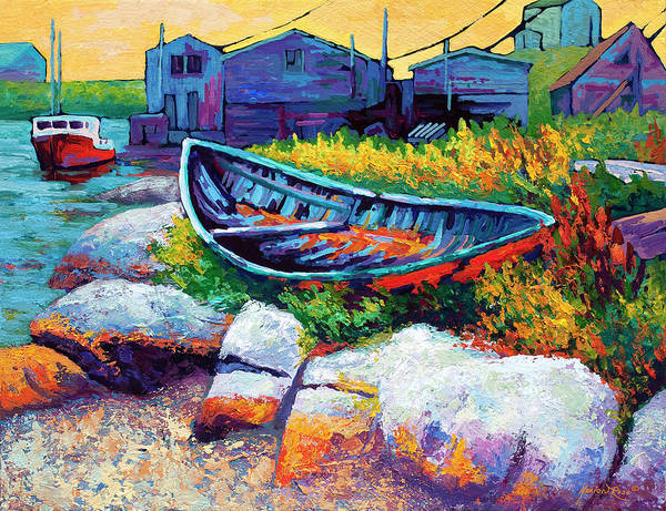 East Coast Boat Art Print