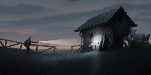 Barn Wall Art - Digital Art - East Coast Fear by Matt Akin