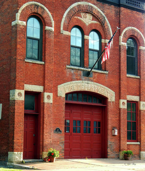 Photograph - East End Firehouse  by Wild Thing