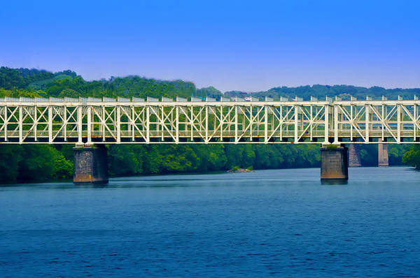 Photograph - East Falls Bridge by Bill Cannon
