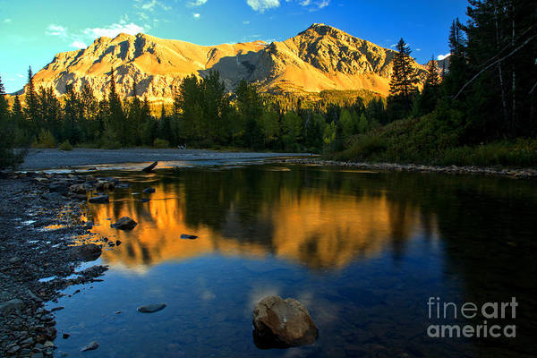 Photograph - East Glacier Reflections by Adam Jewell