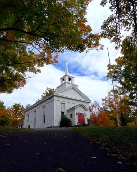 Photograph - East Jewett Church by Donna Cavanaugh