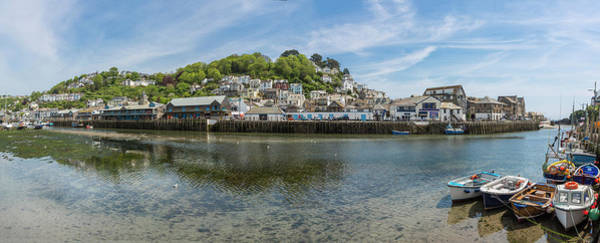 Photograph - East Looe  Across Estuary From West Looe by Maggie McCall