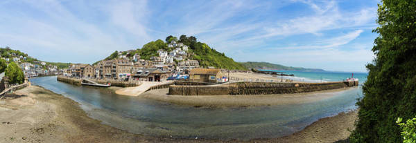 Photograph - East Looe Panoramic From West Looe by Maggie McCall