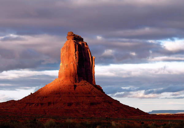 Photograph - East Mitten Butte At Sunset by Nicholas Blackwell