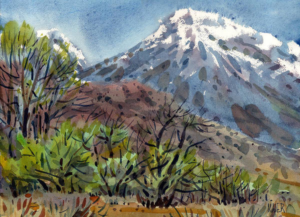 Sierra Nevada Painting - East Of The Sierra Nevadas by Donald Maier