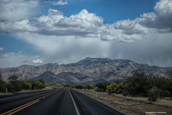 Highway 86 Photograph - East On Highway 86 Towards Kitt Peak by Pamela Astrogypsies