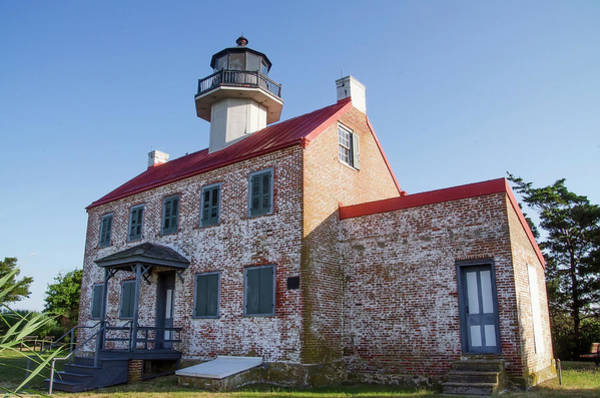 Wall Art - Photograph - East Point Lighthouse Along The Deaware Bay by Bill Cannon