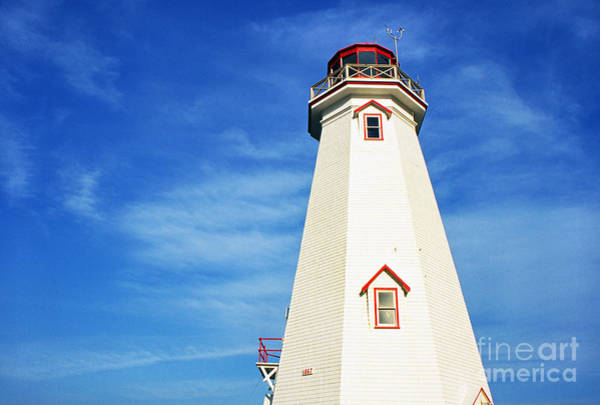 Photograph - East Point Lightstation Prince Edward Island by Thomas R Fletcher