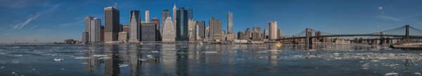 Photograph - East River Ice by S Paul Sahm