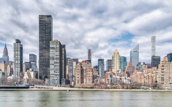 Photograph - East River View by Framing Places