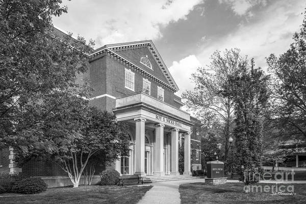Photograph - East Tennessee State University Nicks Hall by University Icons
