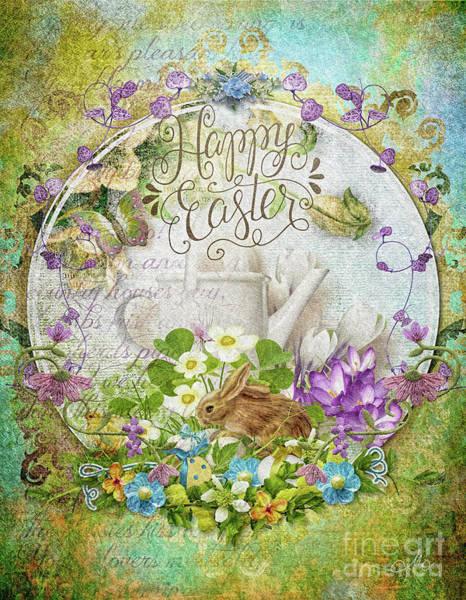 Season Mixed Media - Easter Breakfast by Mo T