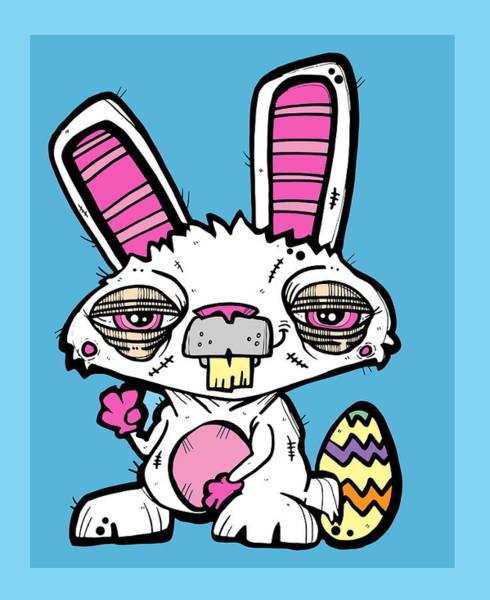 Easter Sunday Digital Art - Easter Bunny by Nicole Wilson