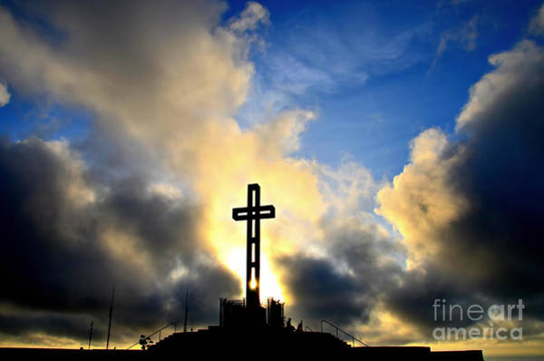 Photograph - Easter Cross by Sharon Tate Soberon