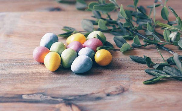 Photograph - Easter Eggs 13 by Andrea Anderegg